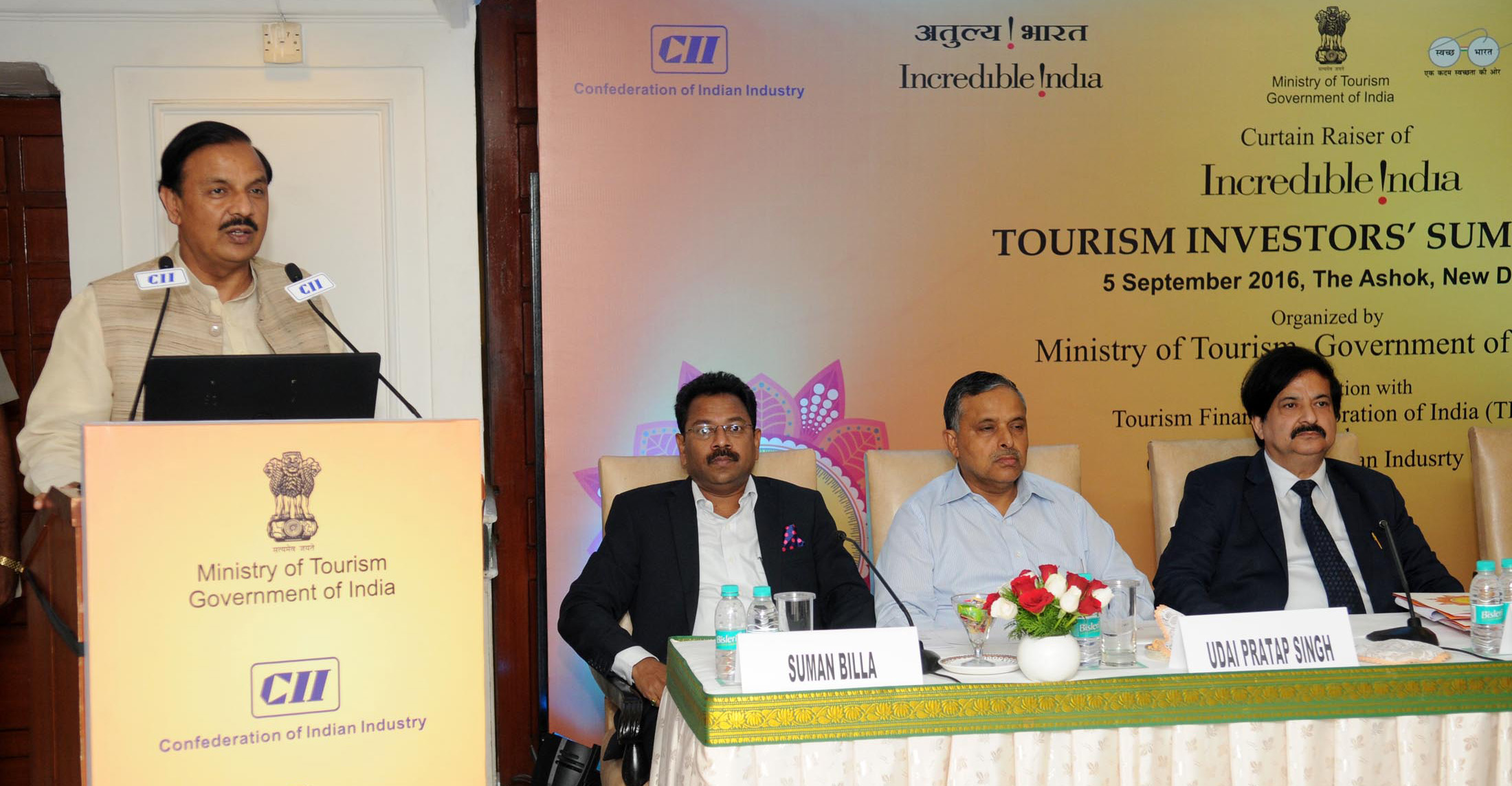 Incredible India Tourism Investment Summit-2016 to begin on 21st Sep.
