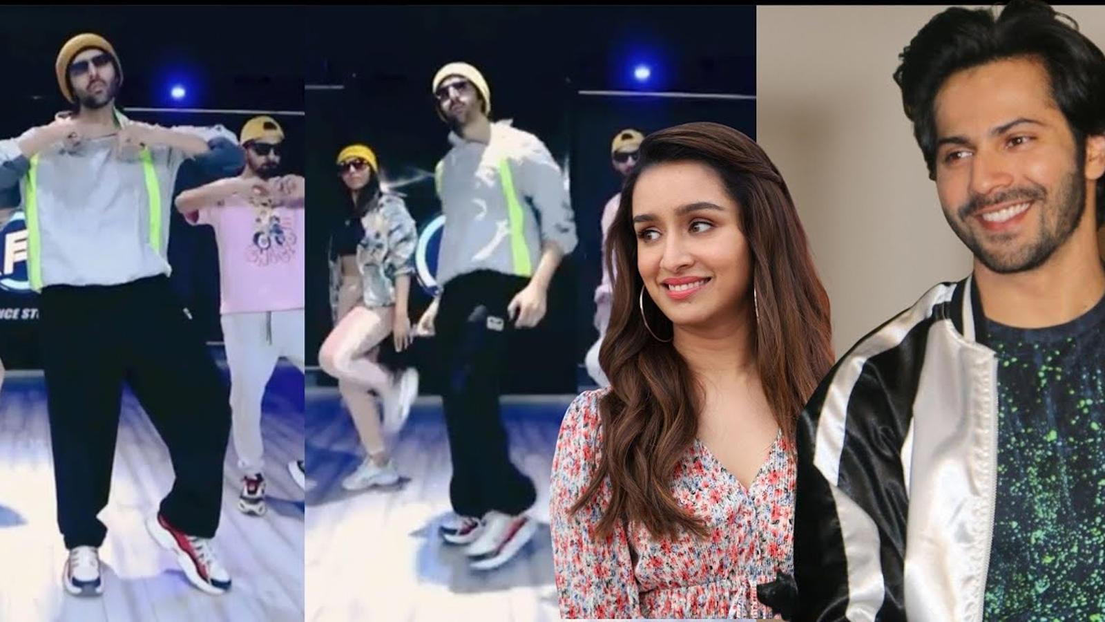 Kartik Aaryan shows off his dance moves in latest video; Varun ...